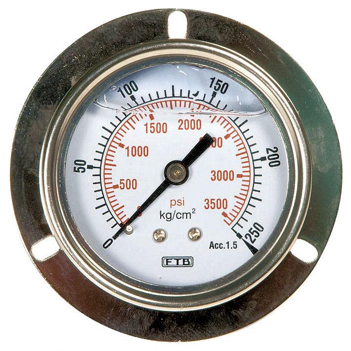 埋入式充油壓力計
