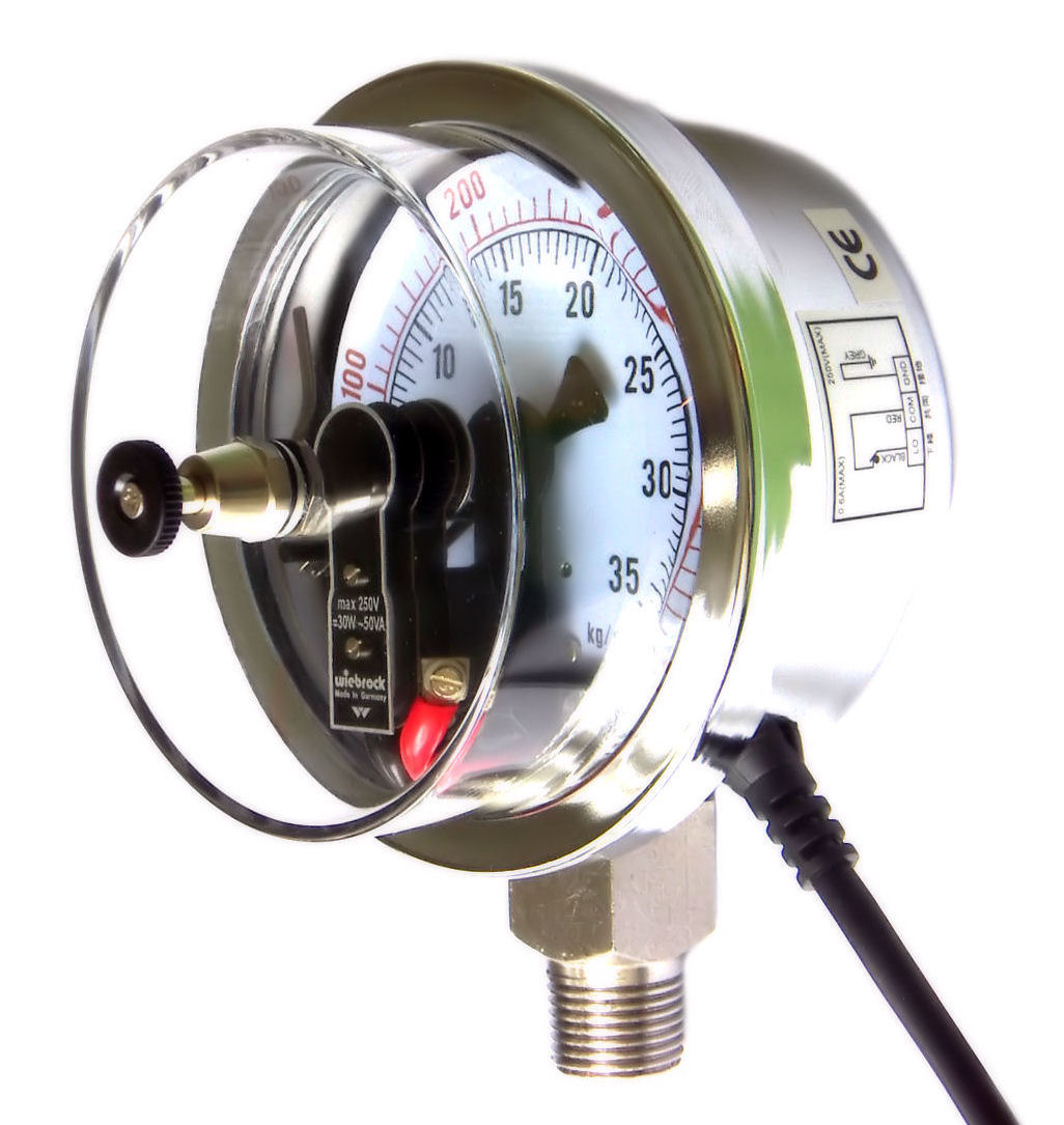 Inductive Contact Pressure Gauges And Manometers Home Wiring Gauge Ipg 100 Lower Mount 725 11