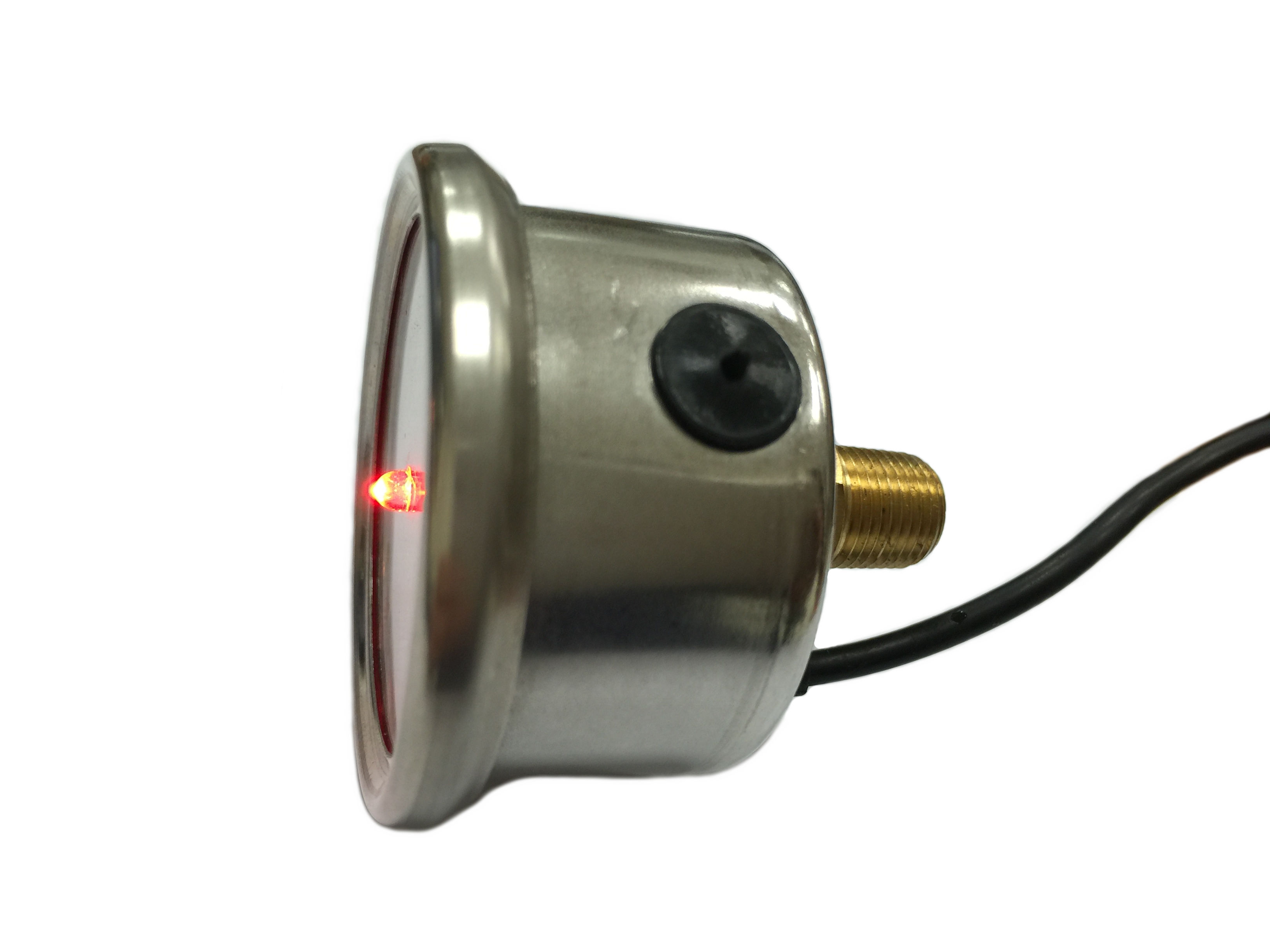 Pressure switch for quick die change system clamps