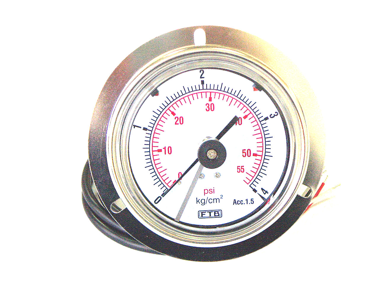Hydraulic And Pneumatic Pressure Gauge With Switches 2 Way Switch The Eepg 50 63 Non Contact Type Is Manufactured Under Ftb Developed
